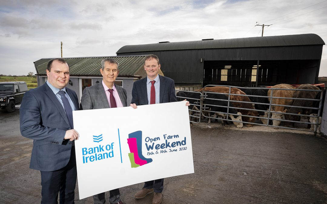 Bank of Ireland Renews Title Sponsorship of Open Farm Weekend