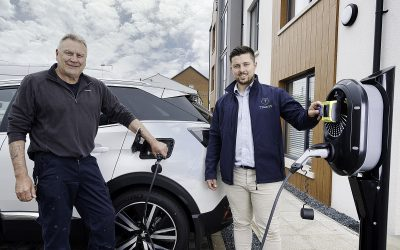 New Electric Vehicle Charger Powers Up in NI